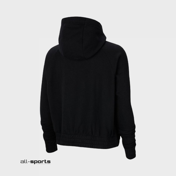 Nike Sportswear Essential Full-Zip Fleece Hoodie Black