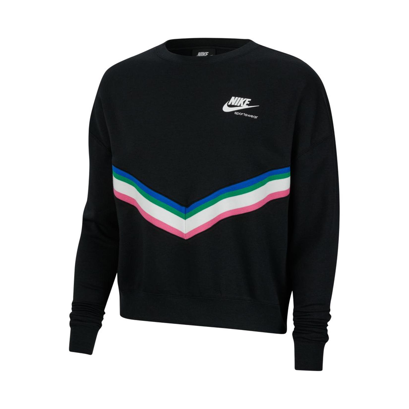 Nike Sportswear Heritage Sweatshirt Black