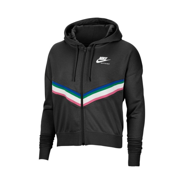Nike Sportswear Heritage Full Zip Black