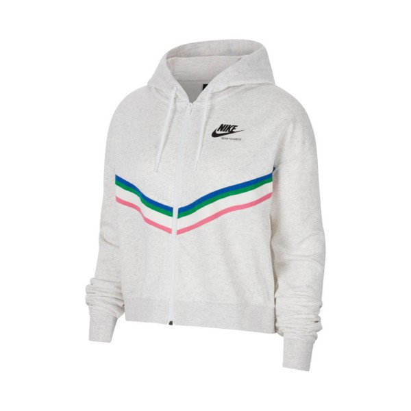 Nike Sportswear Heritage Full Zip Grey
