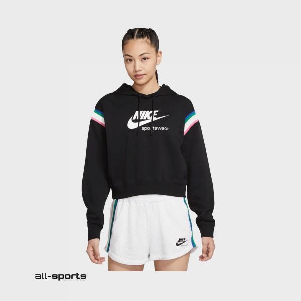 Nike Sportswear Heritage Hoodie Black