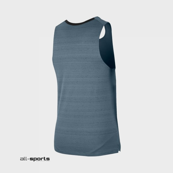 Nike Dri-FIT Miler Sleeveless Grey