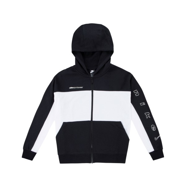 Nike Sportswear Archive Remix Full-Zip Black - White