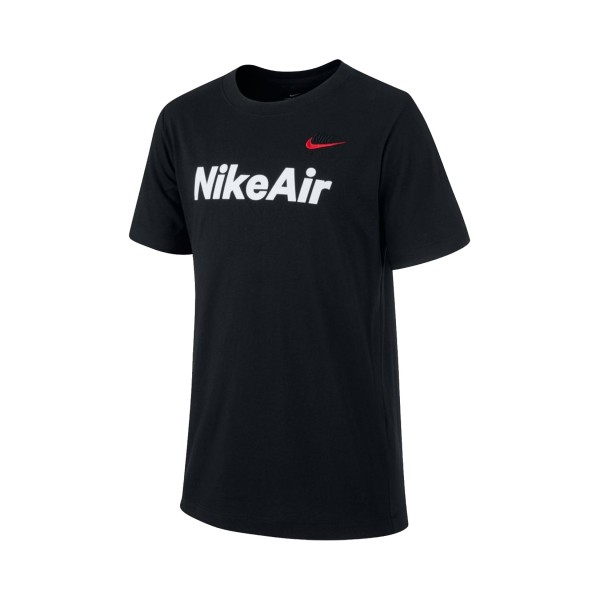 Nike Sportswear Air Tee Big Boys Black