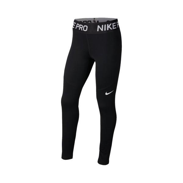 Nike Pro Warm Big Kids Black