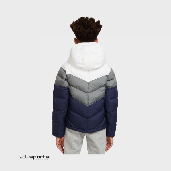 Nike Sportswear Jacket White - Grey - Blue