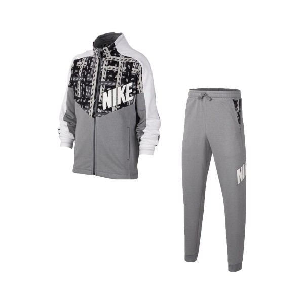 Nike Sportswear Kids Tracksuit Grey