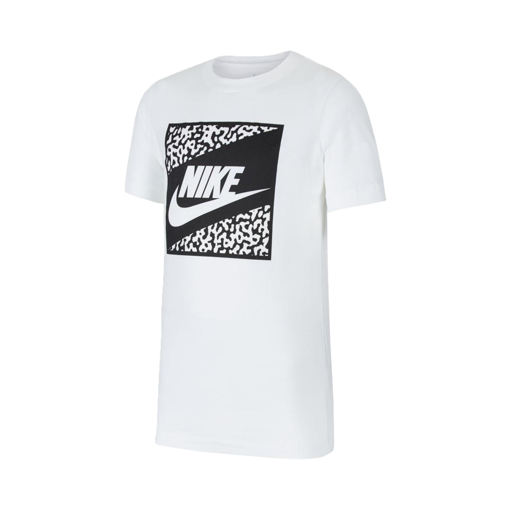 Nike Sportswear Older Kids' Tee White