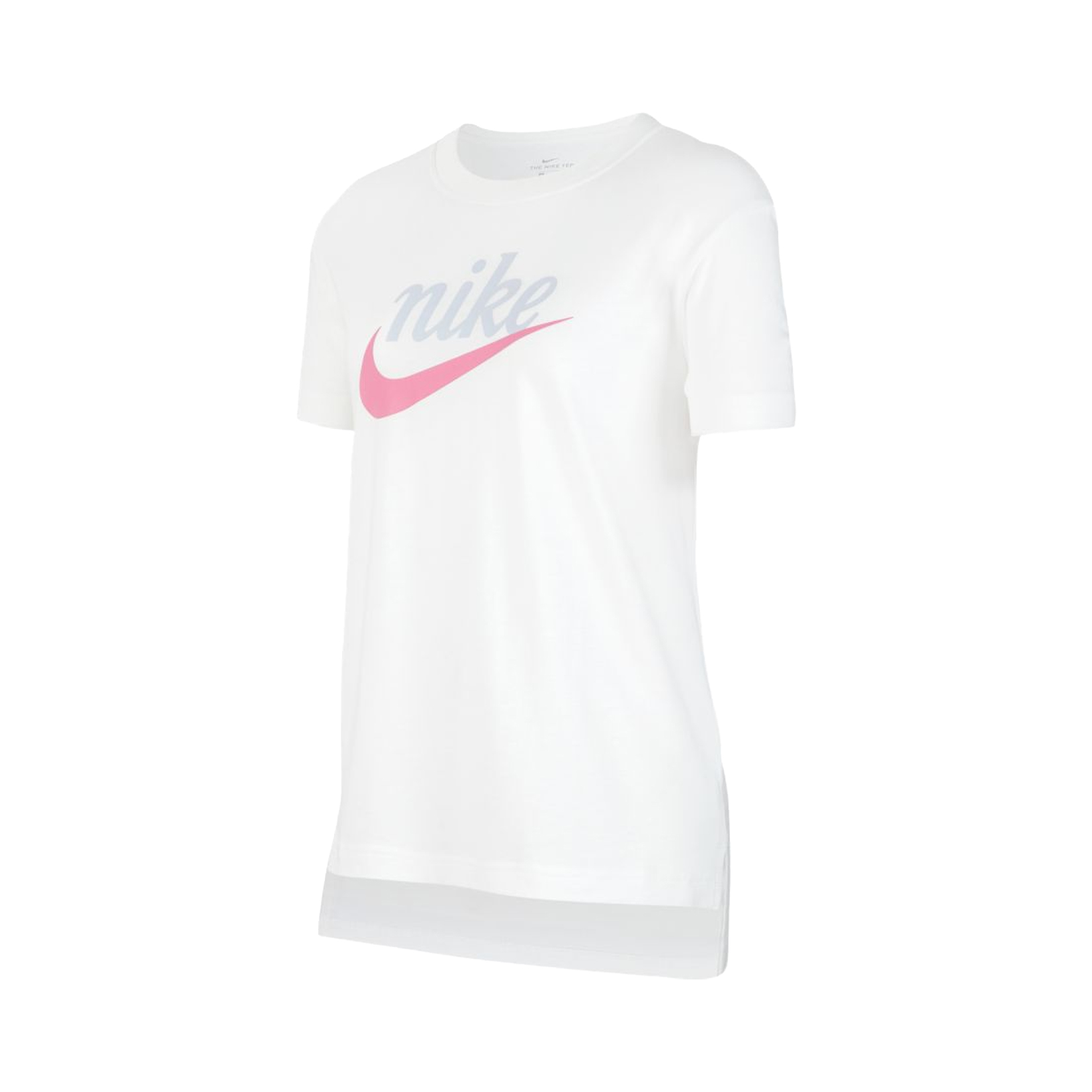 Nike Sportswear Script Futura Big Kids Girls White