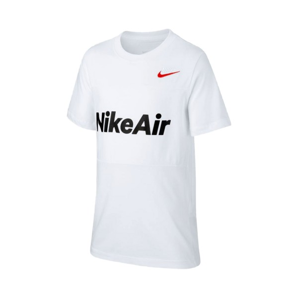 Nike Sportswear Air Tee Big Boys White