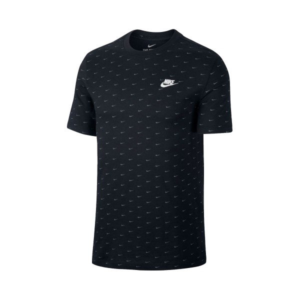 Nike Sportswear Mini Swoosh Print Black