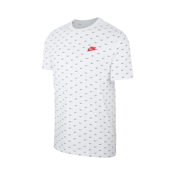 Nike Sportswear Mini Swoosh Print White