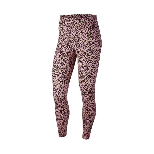 Nike Sportswear All Over Print Legging Pink