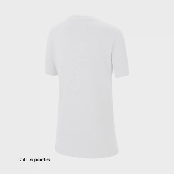 Nike Sportswear Kids' Tee Basketball Ball White