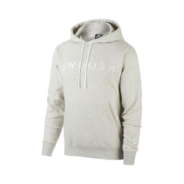 Nike Sportswear Swoosh Pullover Hoodie Grey