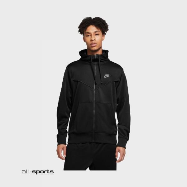Nike Sportswear Full Zip Hoodie M Black