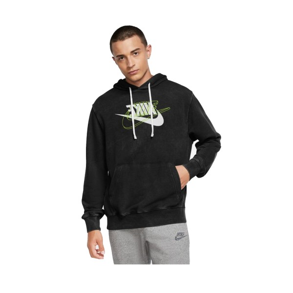 Nike Sportswear French Terry Pullover Hoodie Black