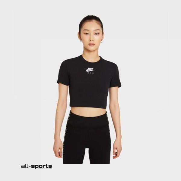 Nike Air Crop Tee Black