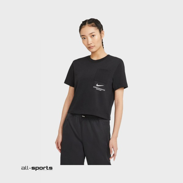 Nike Sportswear Swoosh Tee W Black