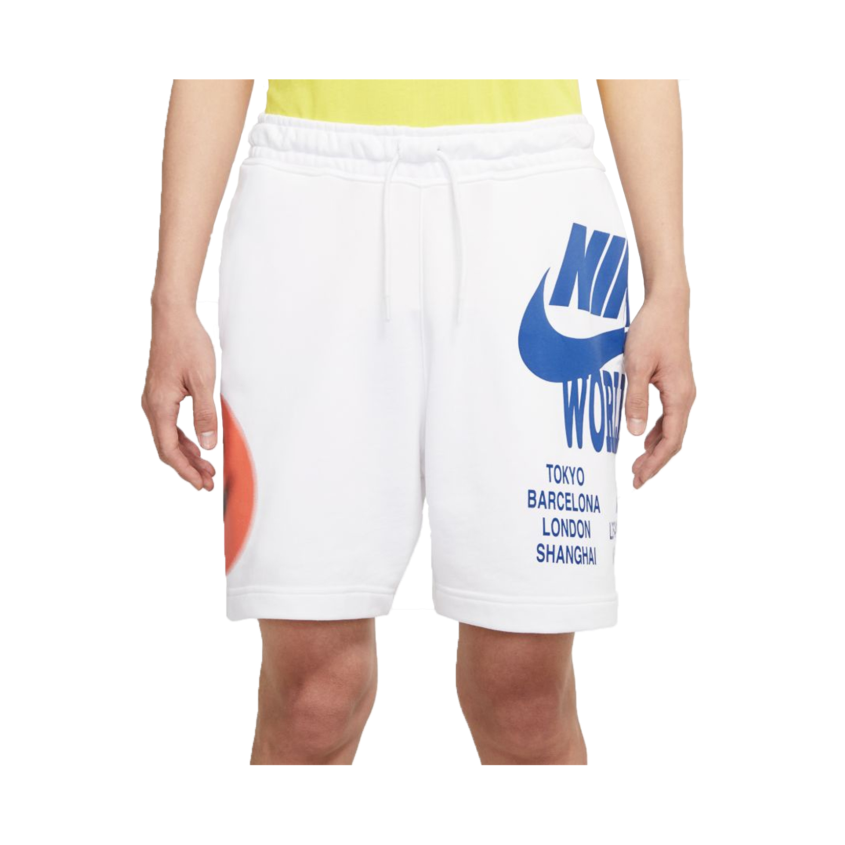 Nike Sportswear World Tour Shorts White