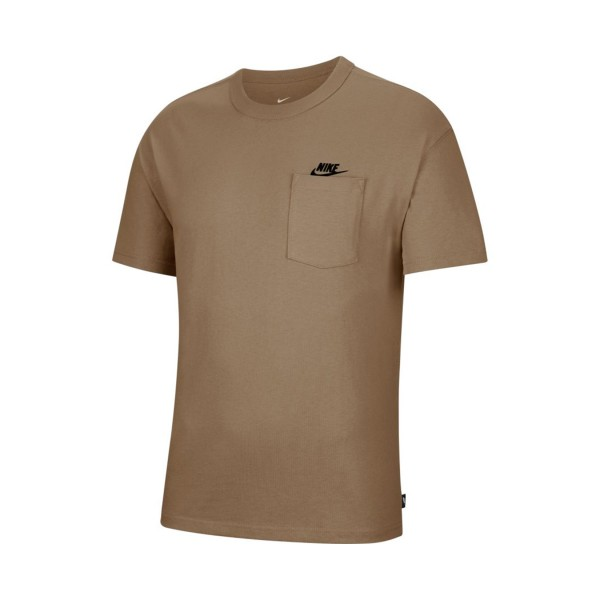 Nike Sportswear Premium Essentials Ανδρικη Μπλουζα Καφε