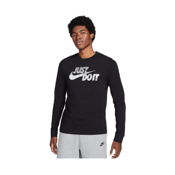 Nike Sportswear Just Do It Sweatshirt Black