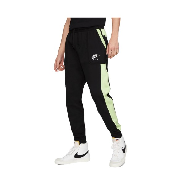 Nike Sportswear Air Fleece Pants Black - Green