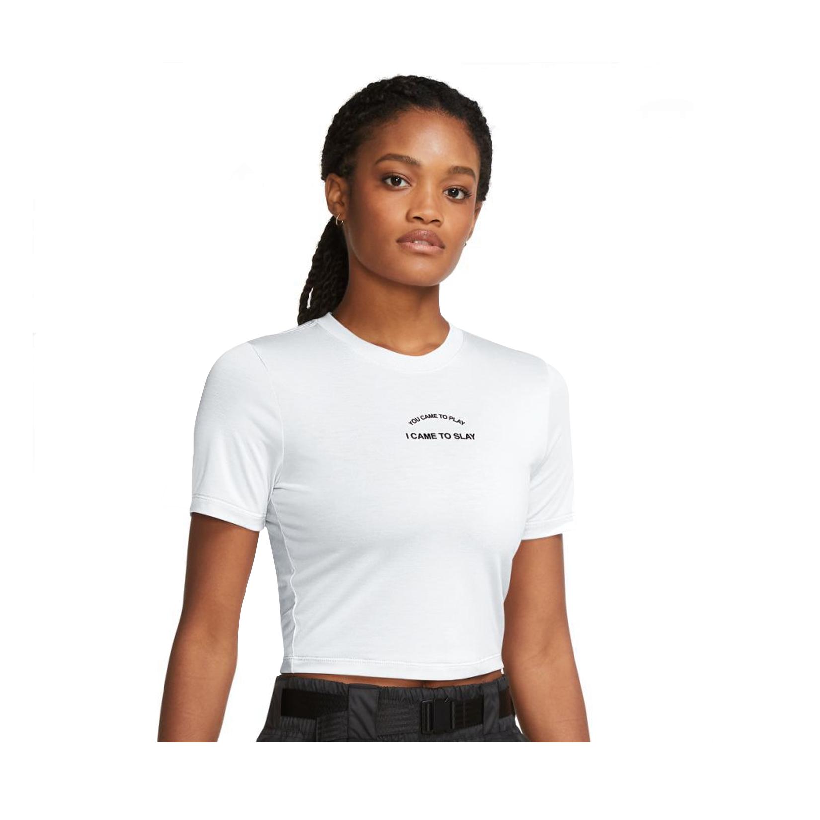 Nike Sportswear Short Sleeve Tee White