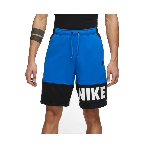 Nike Sportswear Essentials Plus Βερμουδα Μπλε - Μαυρο