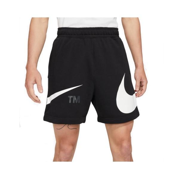 Nike Sportswear Swoosh French Terry Ανδρικό Σορτς Μαυρο