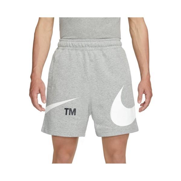 Nike Sportswear Swoosh French Terry Ανδρικό Σορτς Γκρι