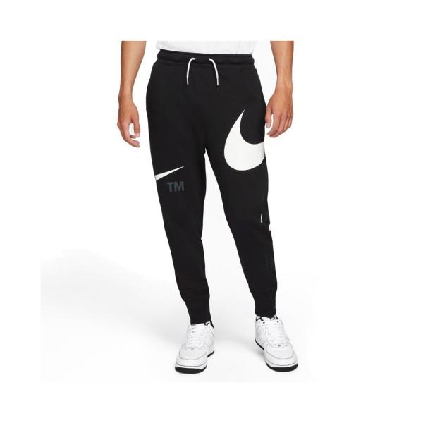 Nike Sportswear Swoosh Logo Ανδρικο Παντελονι Μαυρο