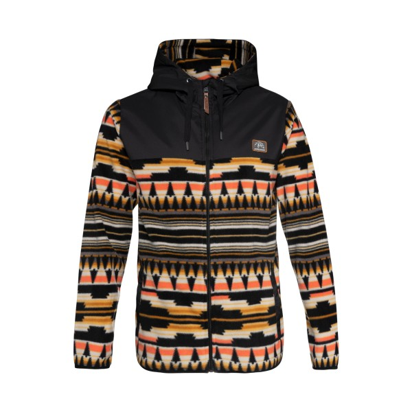 Protest Grind Fleece Full Zip Hoody Multicolor