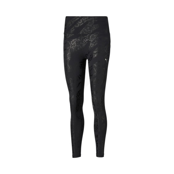 Puma Untamed All Over Print 7/8 Training Leggings Black
