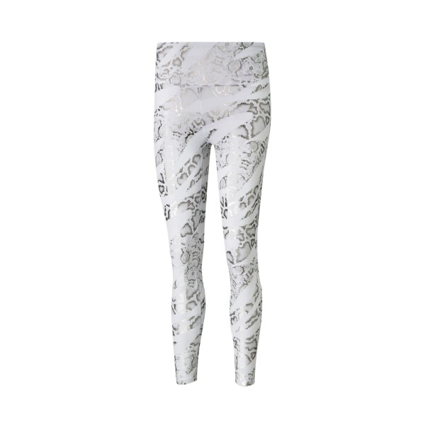 Puma Untamed All Over Print 7/8 Training Leggings White