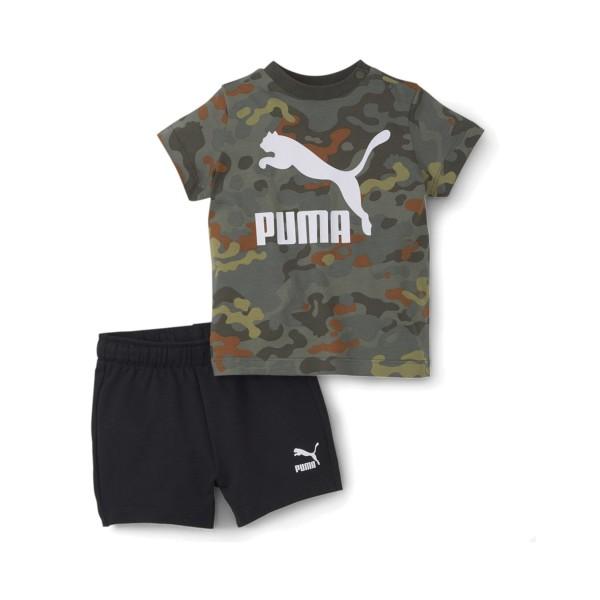 Puma Minicats Classics Khaki - Black