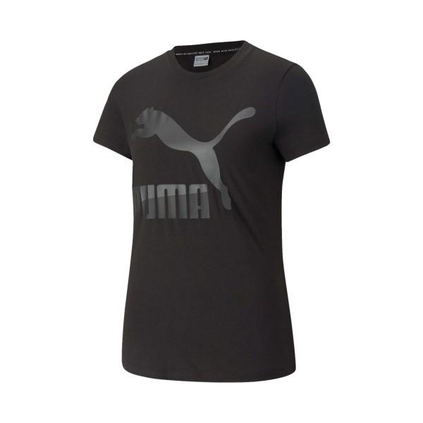 Puma Classic Γυναικεια Μπλουζα Μαυρη