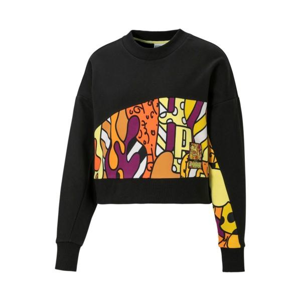 Puma x Britto Knitted Μπλουζα Μαυρη