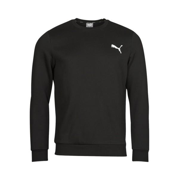Puma Essential Small Logo Ανδρικο Φουτερ Μαυρο