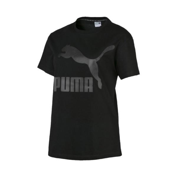 Puma Classic Logo Tee Black
