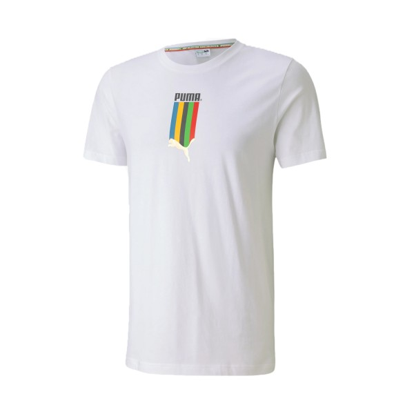 Puma TS Graphic Tee White
