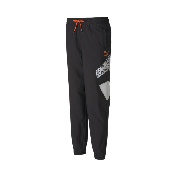 Puma TFS Printed Track Pants Black - Animal Print