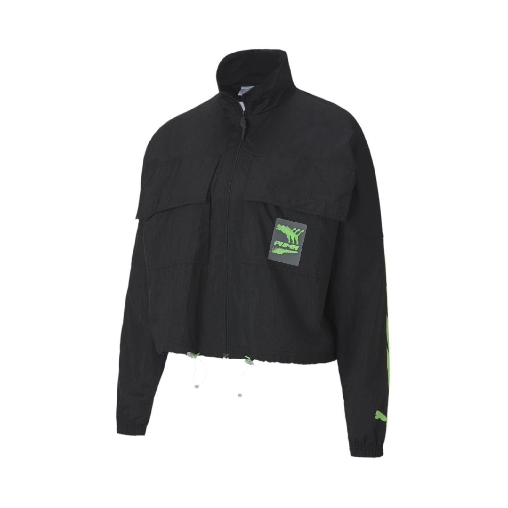 PUMA Evide Woven Women's Track Jacket Black