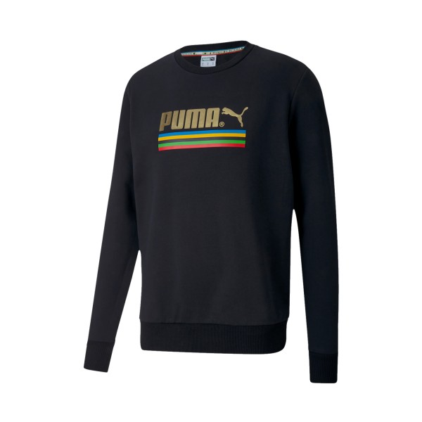 Puma The Unity Collection TFS Crew Neck Sweater Black