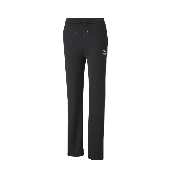 Puma Classics Wide Leg Pants Black