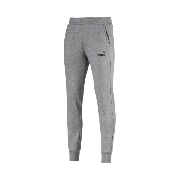 Puma Essentials Fleece Track Pants Grey