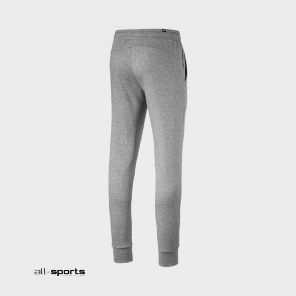 Puma Essentials Fleece Track Pants Grey