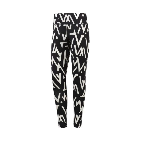 Reebok Workout Ready Printed Legging Black - White