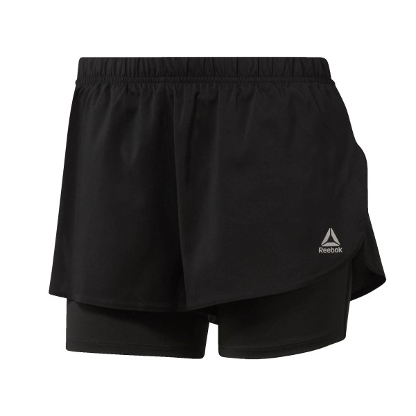 Reebok Sport 2-In-Shorts Black