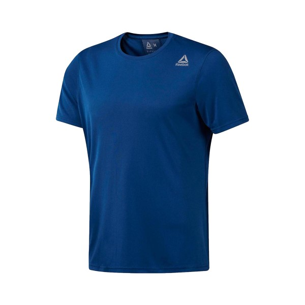 Reebok Run SS Tee Blue